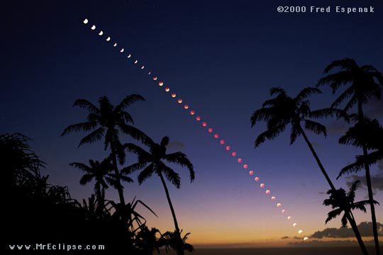 Total Eclipse Over Maui